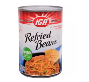 IGA All Natural Refried Beans